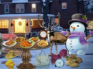 Winter Snow Hidden Objects game