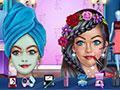 Trendy Makeover Spa Salon game
