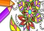 Mandala Coloring Game game
