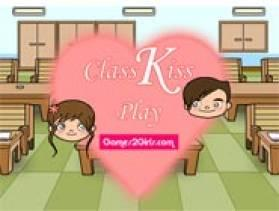 Class Kiss - Free Game At Playpink.Com game