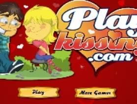 Kiss In The Park - Free Game At Playpink.Com game