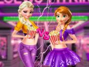 Ellie And Annie Movie Night game