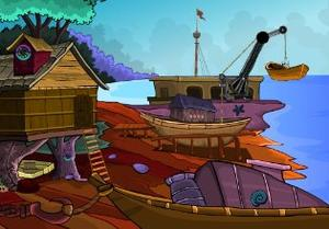 play Rescue People From Sea Rover