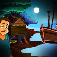 play Escape Game : Rescue People From Sea Rover