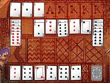play Algerian Solitaire