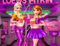 Ellie And Annie Movie Night game
