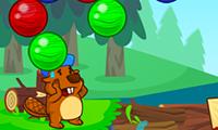 Beaver Bubbles game