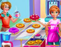 Annie Cooking Donuts game