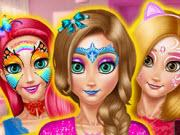 Princess Room Face Painting game