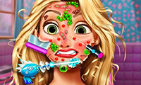 Goldie Princess: Skin Doctor game