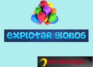 Explotar Globos game