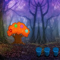 Zoozoogames-Dense-Forest-Escape game
