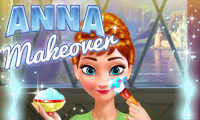 Anna Makeover game