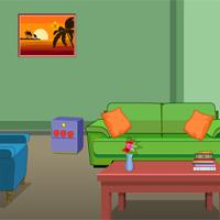 Escapegamestoday Pale Green Room Escape game