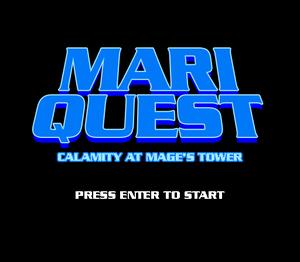 play Mari Quest: Calamity At Mage'S Tower