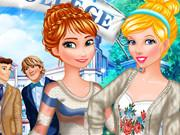 play Princesses College Crush
