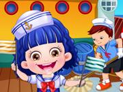 Baby Hazel Sailor Dressup game