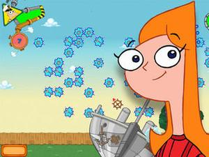 Phineas And Ferb Magnetic Voyage game