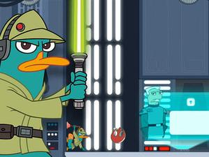 Phineas And Ferb Agent P Rebel Spy game