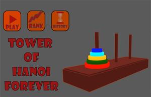 Tower Of Hanoi Forever game