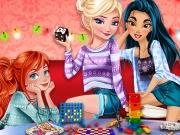 Princesses Board Games Night game