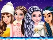 Princesses Go Ice Skating game