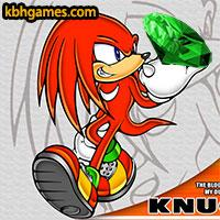 Knuckles' Emerald Hunt game