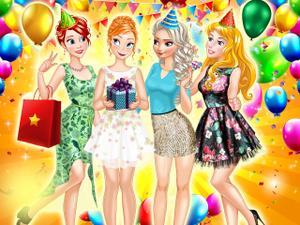play Princess Birthday Party Surpise