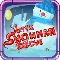 Little Snowman Rescue Escape game