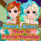 play Frozen Sisters Back To School Shopping
