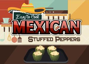 play Easy To Cook Mexican Stuffed Peppers
