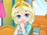 play Baby Elsa Room Decoration