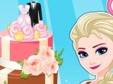 play Elsa Wedding Cake Master