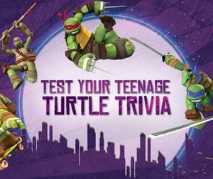 Test Your Teenage Turtle Trivia game
