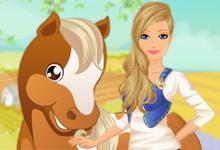 play Barbies Country Horse