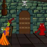 play Green Witch House Escape