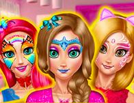 play Princess Room Face Painting