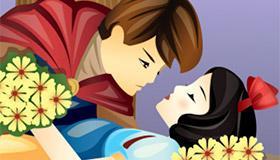 Snow White Kissing game