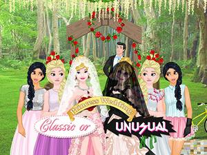 Princess Wedding: Classic Or Unusual