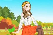 play Fancy Orange Color Girl