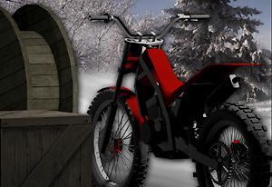 play Bike Trial Snow Ride
