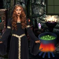 Escape The Girl From Witch game