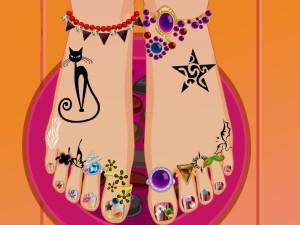 Princess Pedicure Salon game