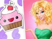 play Disney Princesses Postcard Maker