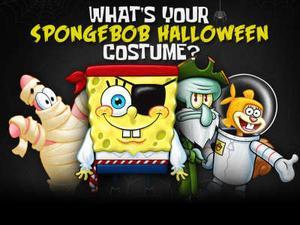 play Spongebob Squarepants: What'S Your Spongebob Halloween Costume? Quiz