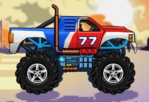play Monsters Wheels Hd