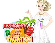 play Princess On Vacation
