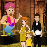 Genie World Escape game