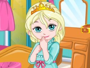 Baby Elsa Room Decoration game