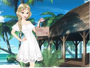 Princess On Vacation game